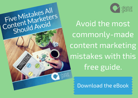 Download your free eBook on content marketing mistakes.
