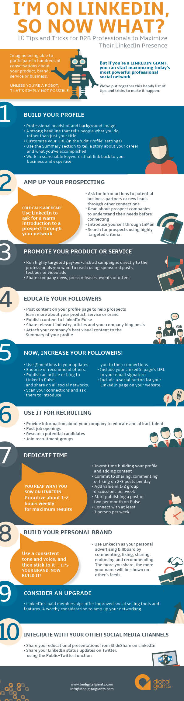 A guide to networking with LinkedIn