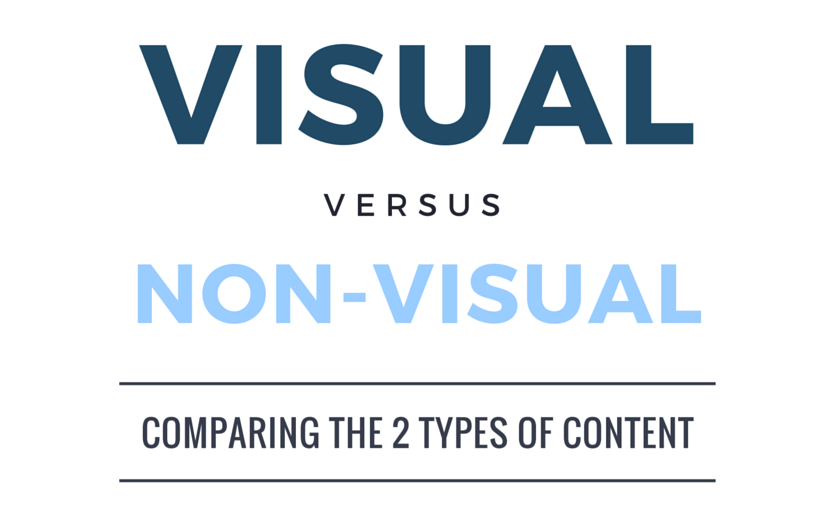 Four Reasons Why Visual Content Makes a Giant Difference (Infographic)