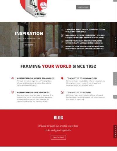 Farley Windows - Homepage - Digital Giants - Website Design Portfolio
