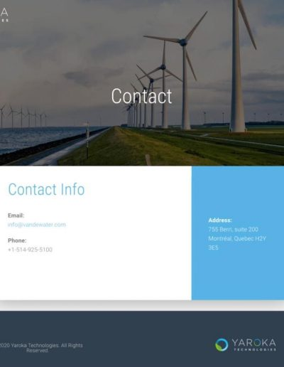 Yaroka Technologies - Contact Page - Digital Giants - Website Design Portfolio