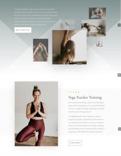 BodyBalanced Wellness - Home - Digital Giants Website Portfolio