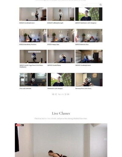 BodyBalanced Wellness - Videos page - Digital Giants Website Portfolio